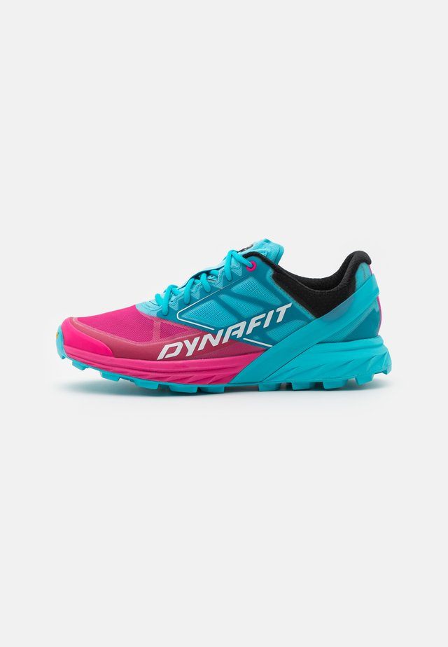 ALPINE  - Chaussures de running - turquoise/pink glow