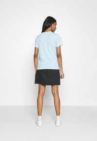 Hollister Co. - TIMELESS - Print T-shirt - light blue - 2