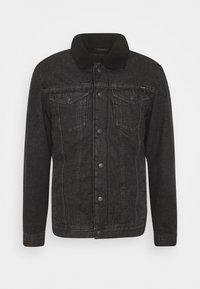 JJIJEAN JJJACKET - Denim jacket - black denim