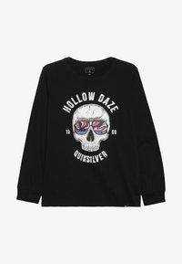 Quiksilver - HOLLOW DAYZ - Pitkähihainen paita - black - 2