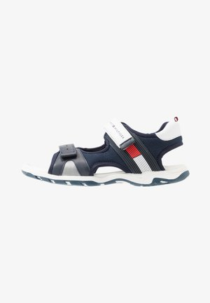 Chodecké sandály - blue/white