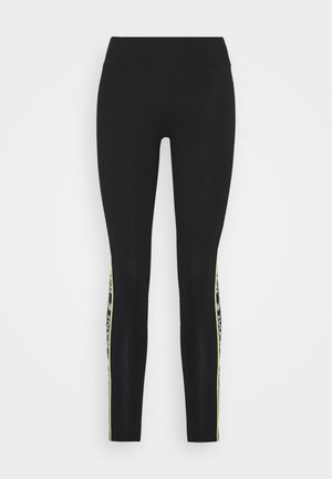 TAPE TIGHT  - Leggings - Trousers - black