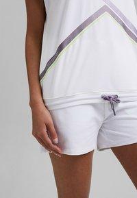 Esprit Sports - Print T-shirt - white - 3