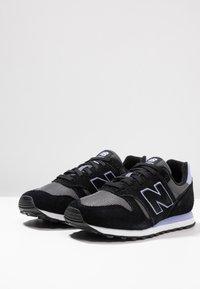 New Balance - WL373 - Sneakersy niskie - black/white - 4