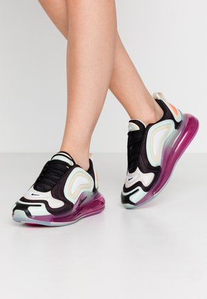 AIR MAX 720 - Zapatillas - black/fossil/pistachio frost/fire pink/hyper crimson