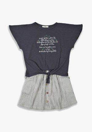 SET - A-line skirt - anthracite