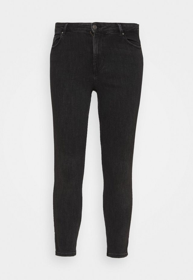 PCLILI SLIM - Jeans slim fit - black denim