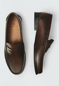 Massimo Dutti - Smart slip-ons - brown - 5