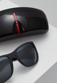 Prada Linea Rossa - Sluneční brýle - matte black/grey mirror black - 2