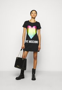 Love Moschino - Jersey dress - black - 1