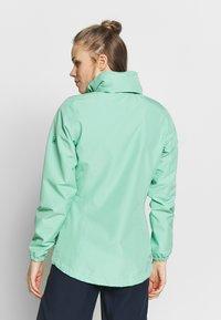 Jack Wolfskin - STORMY POINT JACKET W - Waterproof jacket - pacific green - 3