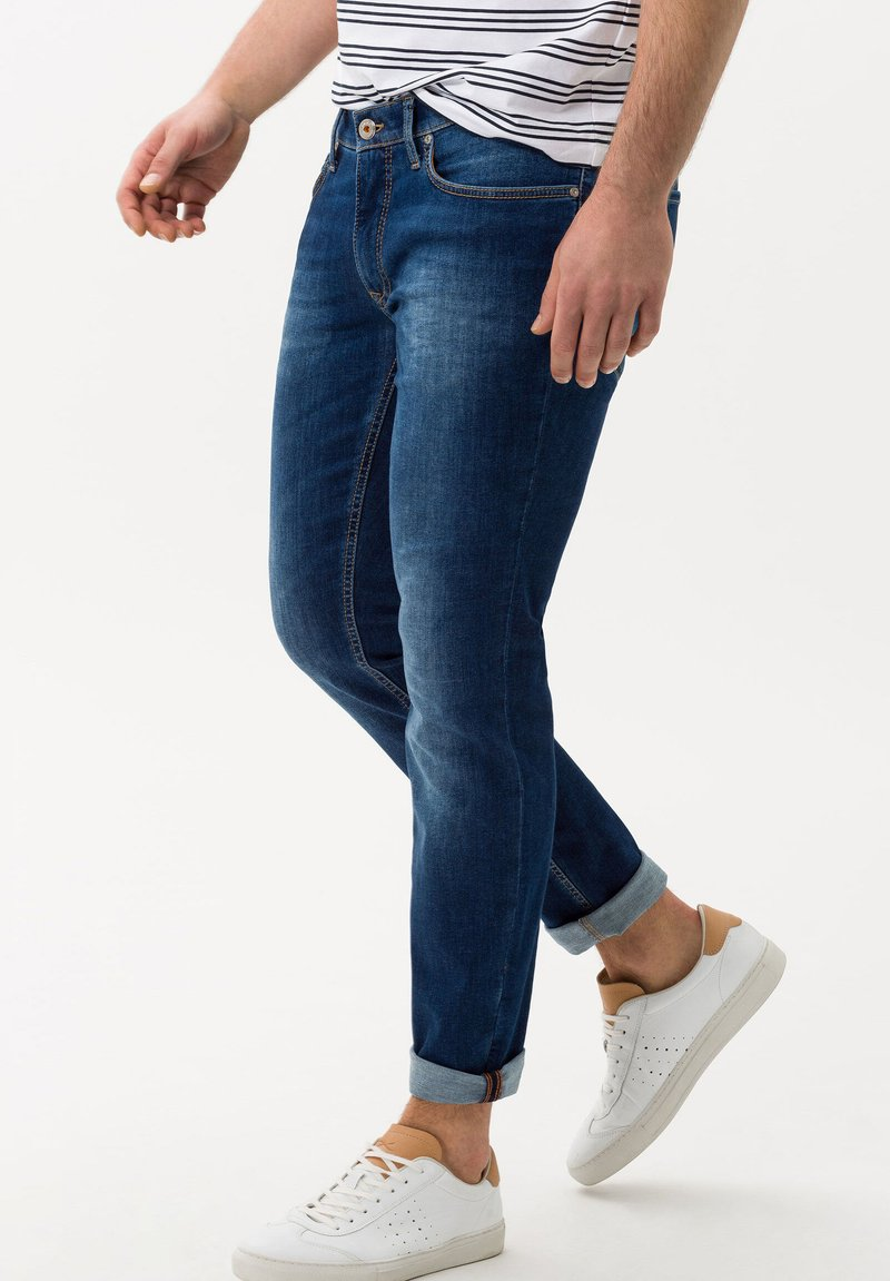 BRAX - CHRIS - Jeans slim fit - darkblue
