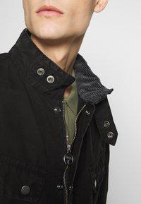 Barbour International - COLOURED DUKE CASUAL - Summer jacket - black - 6