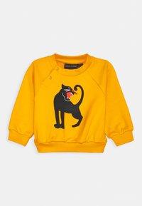 Mini Rodini - BABY PANTHER UNISEX - Sweatshirt - yellow - 0