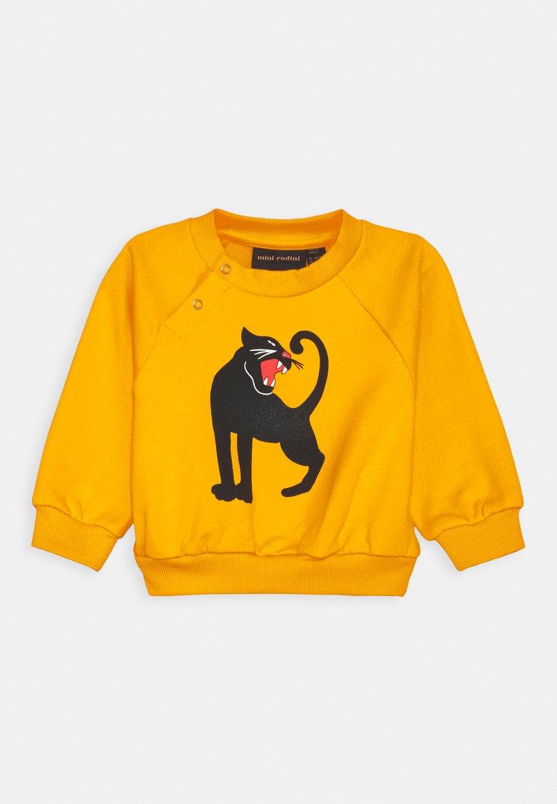 Mini Rodini - BABY PANTHER UNISEX - Sweatshirt - yellow