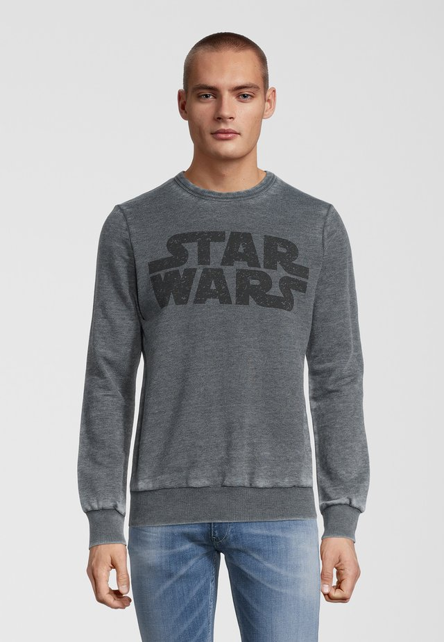 STAR WARS VINTAGE LOGO - Sweater - grau