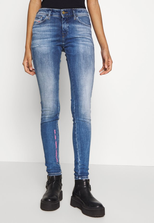 SLANDY - Jeans Skinny Fit - blue denim