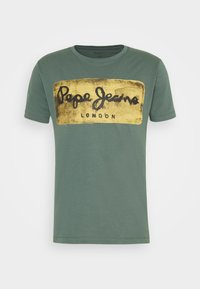 Pepe Jeans - CHARING - Print T-shirt - forest green - 3