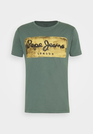 CHARING - T-shirt z nadrukiem - forest green