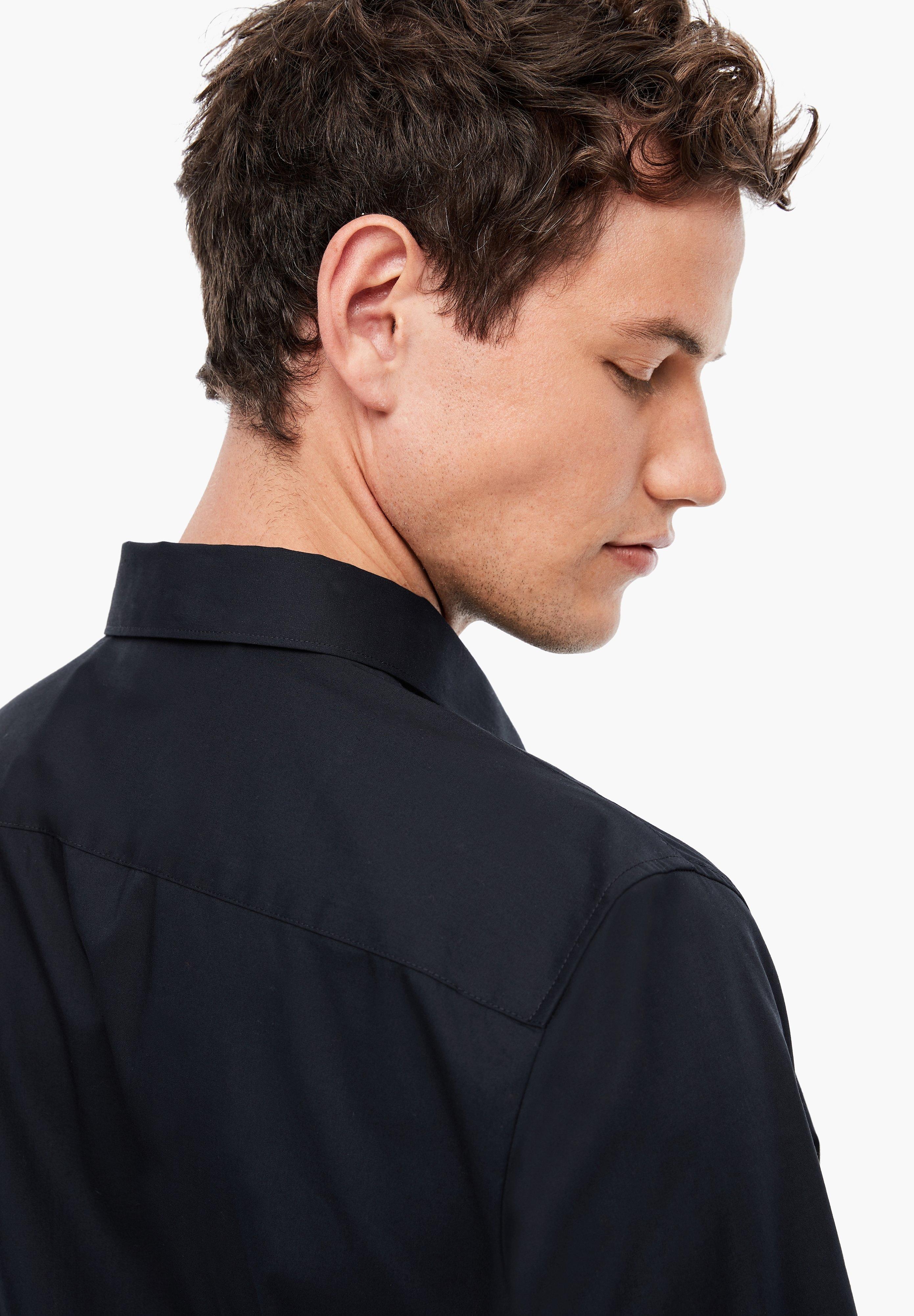 S.oliver Black Label Businesshemd - Dark Blue