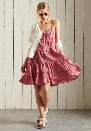 ALANA - Korte jurk - dusty rose
