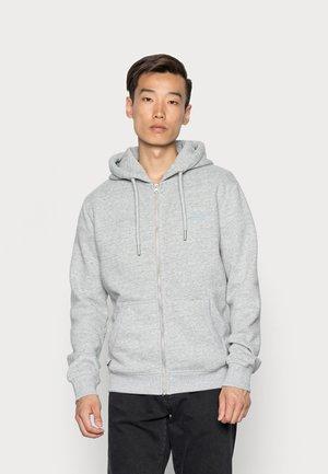 VINTAGE LOGO ZIPHOOD - Zip-up sweatshirt - athletic grey marl