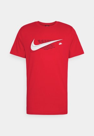 COURT TEE - Camiseta estampada - university red