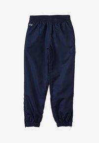 Lacoste Sport - TENNIS PANT - Spodnie treningowe - navy blue - 3