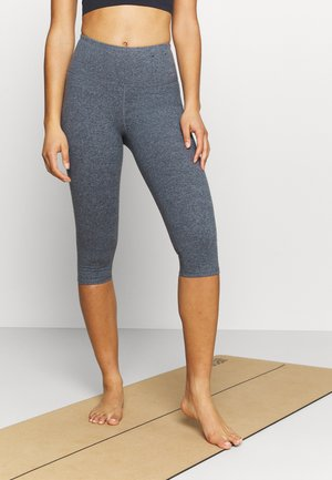 SO PEACHY CAPRI - Leggings - navy marle