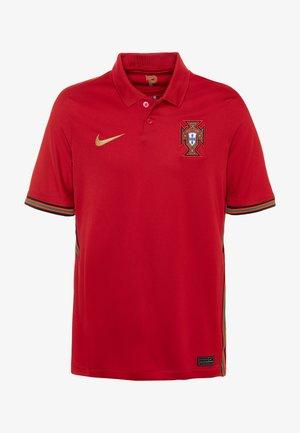 PORTUGAL  - Club wear - gym red/metallic gold