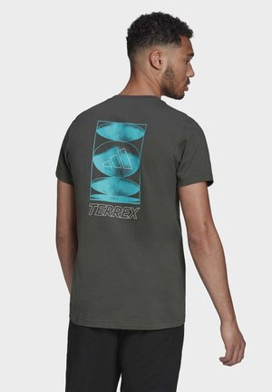 TERREX GRAPHIC T-SHIRT - T-shirt med print - green