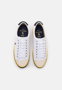 Polo Ralph Lauren - SAYER - Sneakers laag - white/newport navy - 3