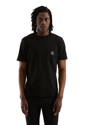 PIERCE PER UOMO - Basic T-shirt - nero