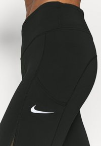 Nike Performance - EPIC LUXE COOL - Tights - black/silver - 4