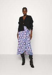 Fabienne Chapot - BOBO FRILL SKIRT - Wrap skirt - marigold lilac - 1