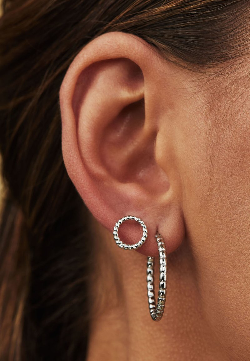 Selected Jewels - Earrings - silver-coloured
