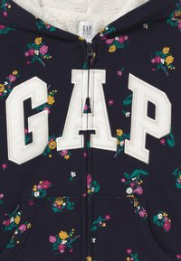 GAP - GIRL LOGO COZY - Zip-up hoodie - navy - 2