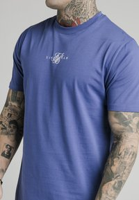 SIKSILK - SQUARE HEM TEE - Basic T-shirt - blue - 4