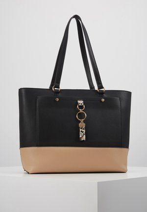 POCKET FRONT SHOPPER - Håndveske - black/stone