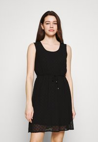 ONLY - ONLLINA DRESS - Cocktail dress / Party dress - black - 0