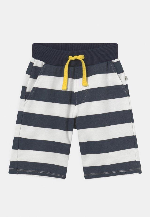 DIBIKO - Shorts - white/dark blue