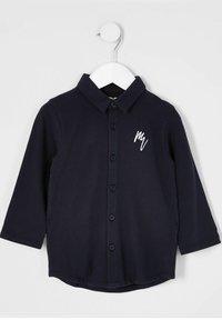 River Island - Shirt - navy - 0