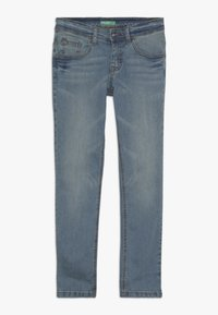 Benetton - TROUSERS - Jeansy Slim Fit - light blue - 0