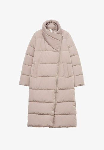Down coat - licht/pastelpaars