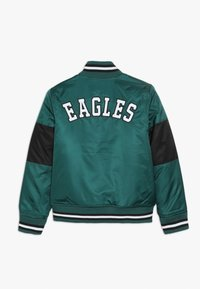 Outerstuff - NFL PHILADELPHIA EAGLES VARSITY JACKET - Sportovní bunda - sport teal/black - 1