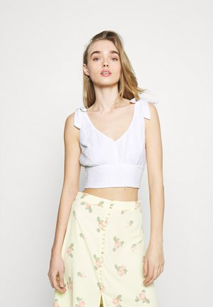 ECLECTIC BARE PRETTY STATEMENT  - Top - white
