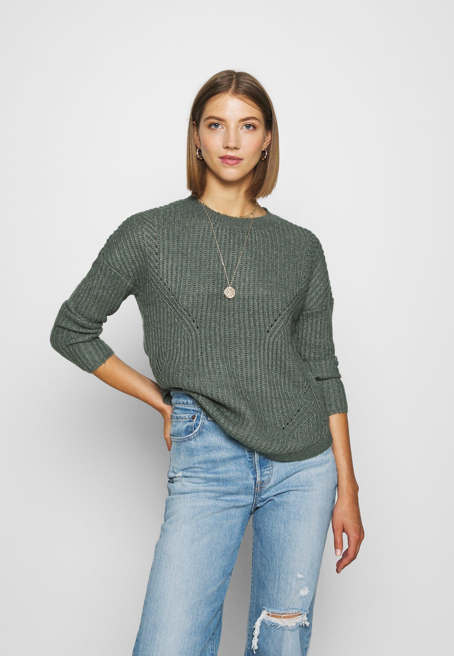 Femme ONLBERNICE ROUND - Pullover