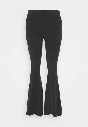 WASHED ACID FLARE - Pantalones deportivos - grey