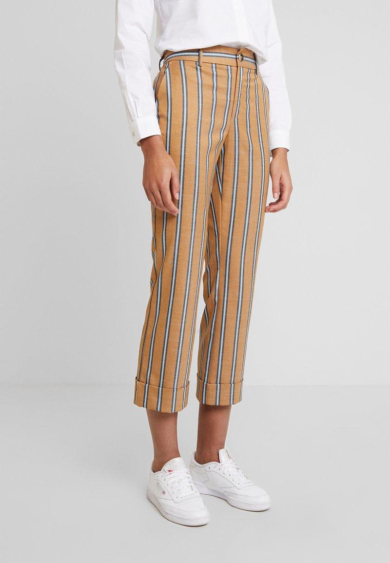 Mos Mosh - BELLA ZETH PANT - Trousers - bran