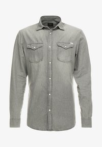 Jack & Jones - JJESHERIDAN SLIM - Shirt - light grey - 3
